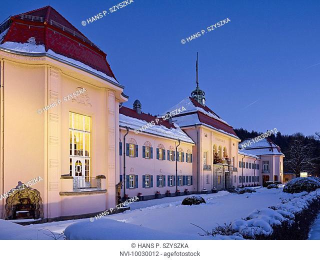 King Albert Bath in Bad Elster, Vogtland, Saxony, Germany
