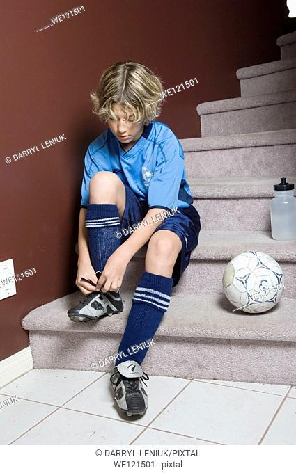 Young footballer