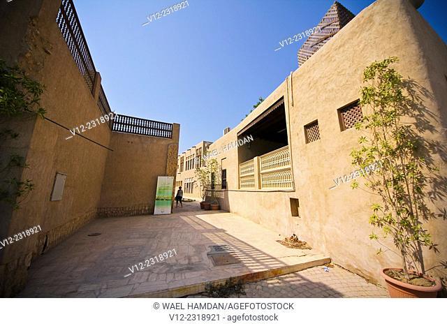 Al Bastakiya District of historic Arabic buildings