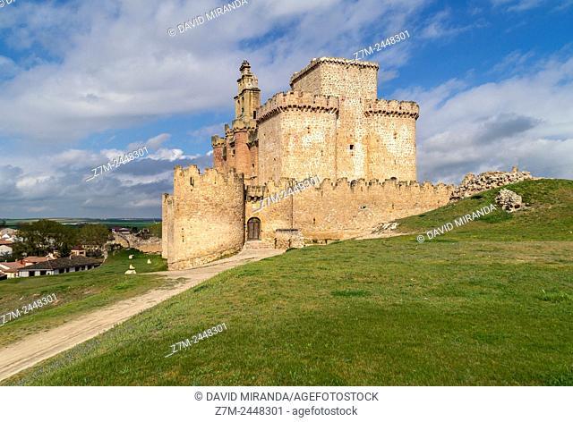 Castillo, Turégano. Segovia province. Castile-Leon. Spain