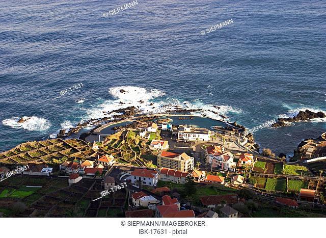 Porto Moniz on Madeira