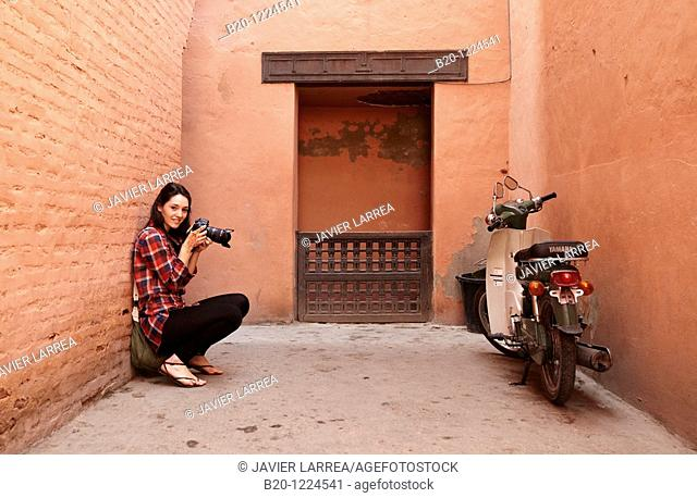 Saadian Tombs, Medina de Marrakech, Marruecos