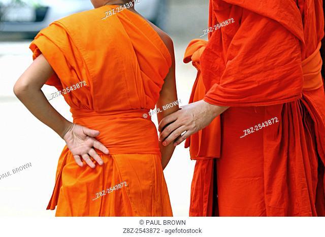 Buddhist Monks, Vientiane, Laos
