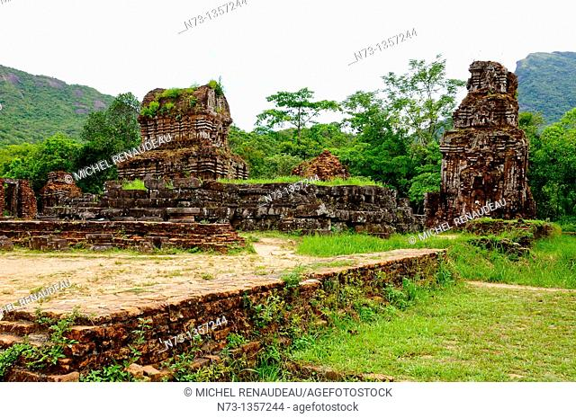 Vietnam, Quang Nam province, My Son, Champa archeological site