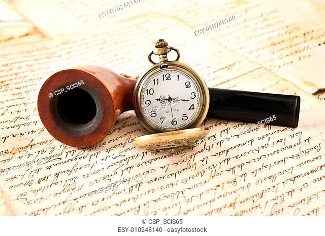 pipe and pocketwatch