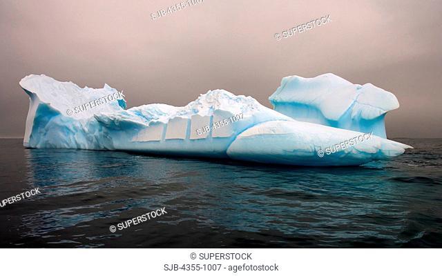 Icebergs in Pleaneau Bay Antarctica