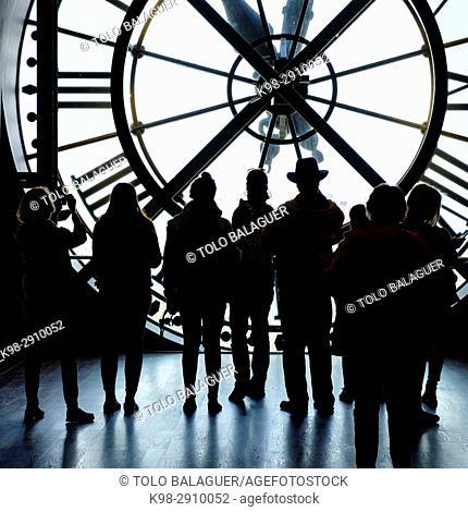 reloj, Orsay Museum, Paris, France,Western Europe