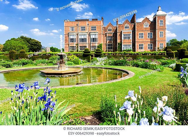Hatfield House with garden, Hertfordshire, England
