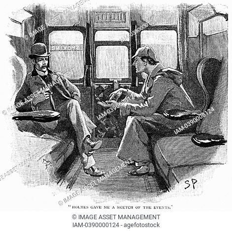 'The Adventure of Silver Blaze': 'Holmes gave me a sketch of the events'  Sherlock Holmes and Dr Watson on train to Devon to investigate a murder and the...