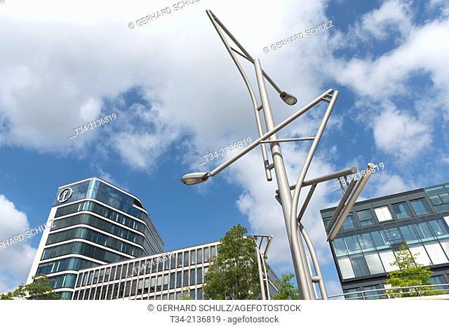 Kuehne & Nagel Office Buildings at HafenCity Hamburg, Germany