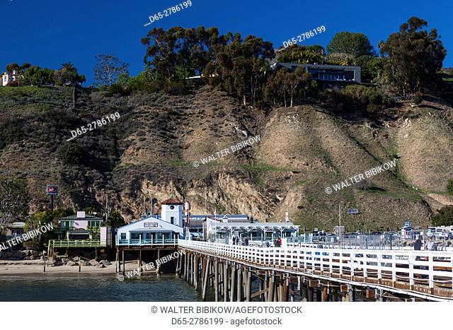 USA, California, Los Angeles-area, Malibu, Malibu Pier