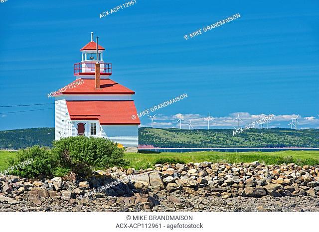 Lighthouse on St.Mary's Bay , Gilbert'sCove, Nova Scotia, Canada