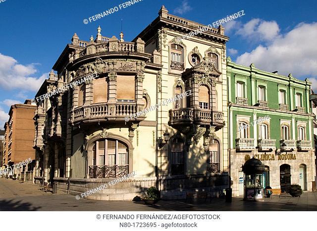 Palacio de Balsera, Aviles, Asturias, Spain