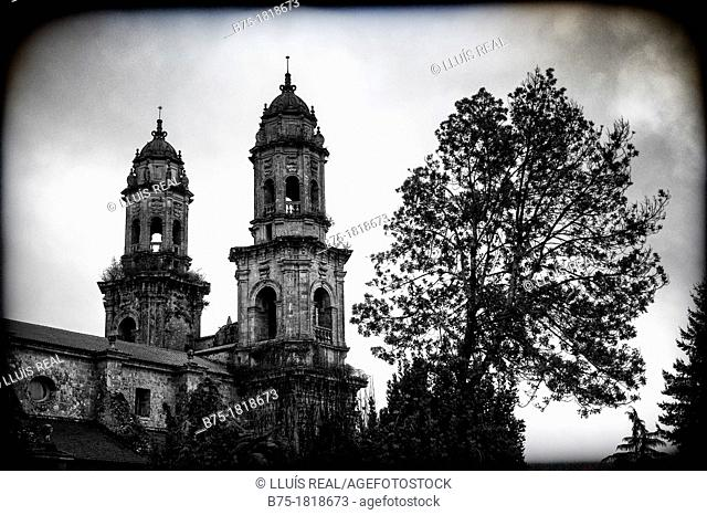 Arquitectura, Albergue de peregrinos de Sobrado dos monxes, Galicia, España, Architecture, Sobrado Pilgrims of two Monxes, Galicia, Spain