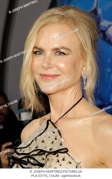 """Nicole Kidman at the Premiere of Warner Bros' """"""""Aquaman"""""""" held at the TCL Chinese Theatre in Hollywood, CA, December 12, 2018"""