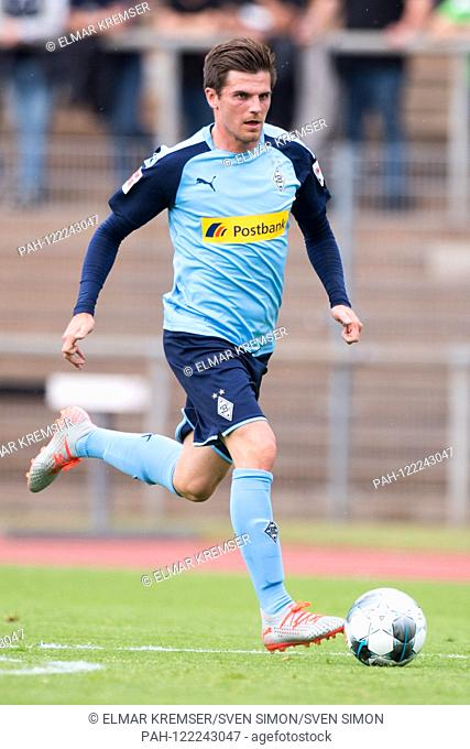 Borussia Monchengladbach (FCMG) - Borussia Monchengladbach (MG) 0: 8, 10.07.2019 in Borussia Monchengladbach / Germany. Jonas HOFMANN (MG) with Ball