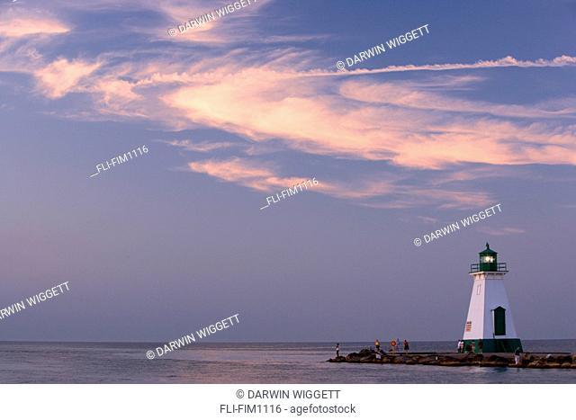 Port Dalhousie Harbour, St. Catherines. Ontario, Canada