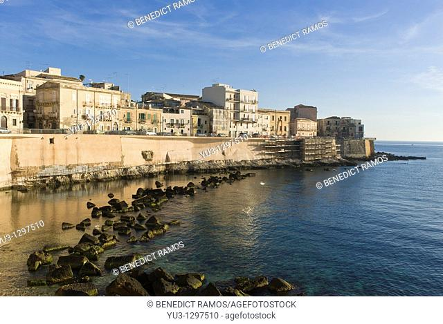 Ortygia island, Siracusa, Sicily, Italy