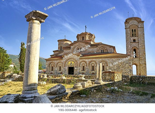 Church Saint Panteleimon, Macedonia, UNESCO