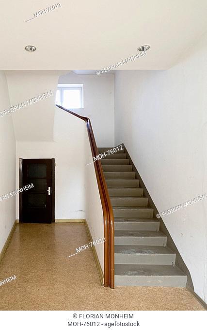 Wolgast, Sparkassengebäude, Treppenhaus
