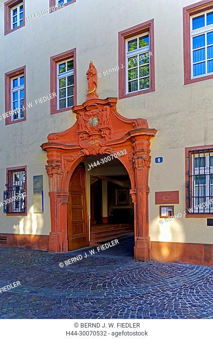 Maria Ward-Schule, Eingang