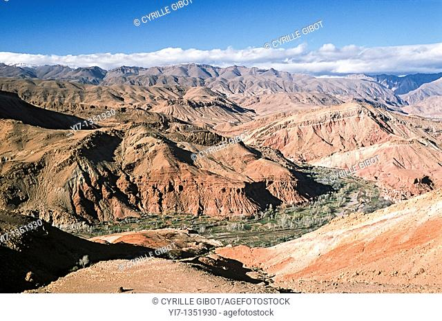 Valley of Roses, High Atlas mountains, Morocco