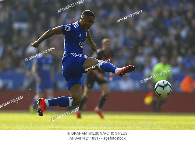 2019 EPL Premier League Football Leicester City v Bournemouth Mar 30th. 30th March 2019, King Power Stadium, Leicester, England; EPL Premier League Football