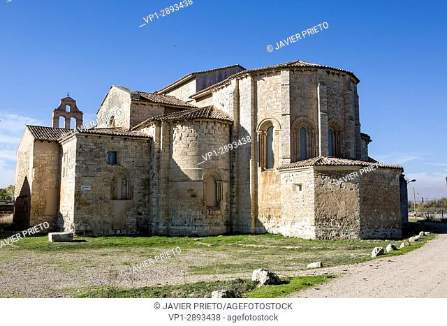 Church of the Cistercian monastery of Santa María de Palazuelos. Centuries XII-XIX. Cabezón de Pisuerga. Valladolid. Castilla y León. Spain