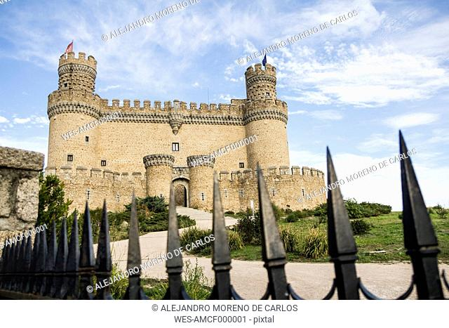 Spain, Manzanares el Real, Madrid, New Castle or Mendoza Castle