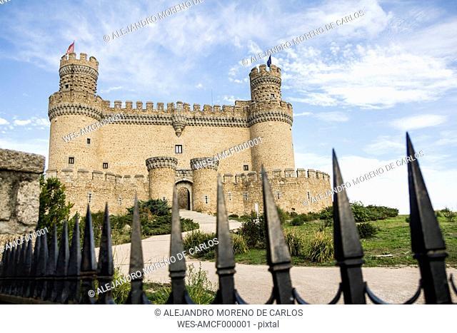 Spain, Manzanares el Real, Madrid, New Castle or Mendoza Castle