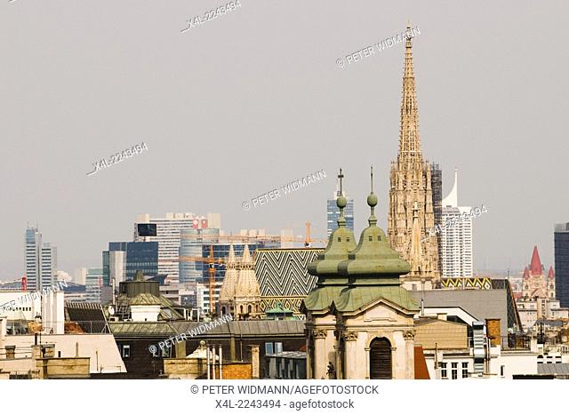 Vienna, St. Stephens Cathedral, Stephansdom, Austria, 1. district, St. Stephen s cathedral