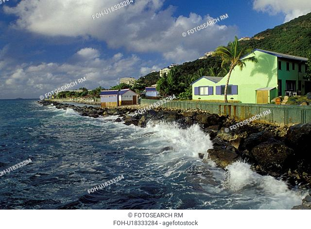 British Virgin Islands, Tortola, Road Town, Caribbean, BVI, Prospect Reef Resort in Road Town on the island of Tortola on the Caribbean Sea