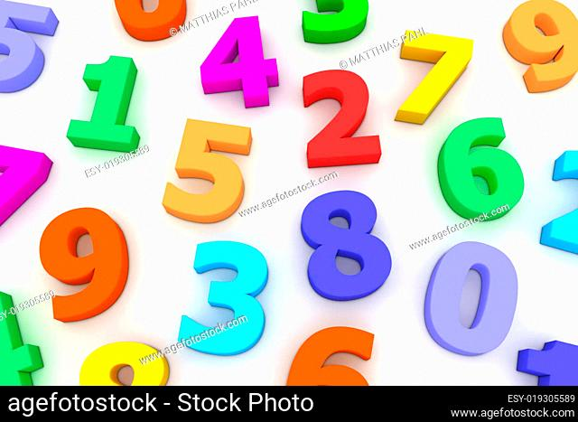 Many Plastic Numbers