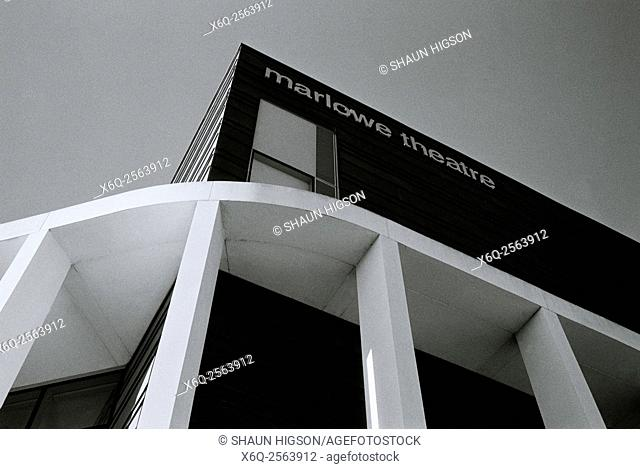 The Marlowe Theatre in Canterbury in Kent in England in Great Britain in the United Kingdom UK Europe