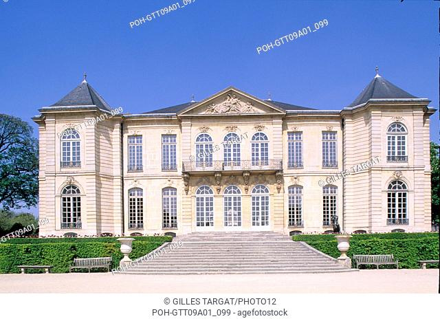 Tourism Hotel Biron Pereinc De Moras Actual Musee Rodin Museum 79