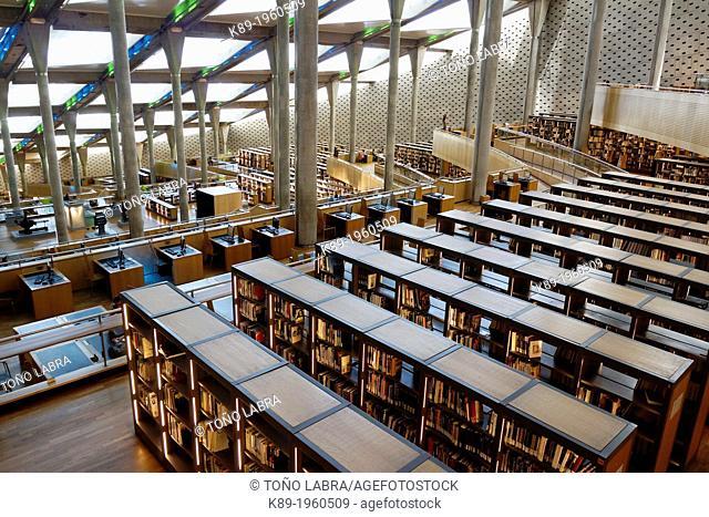 Alexandria Library. Alexandria. Egypt