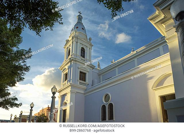 CATEDRAL DE NUESTRA SENORA DE GUADALUPE (©FRANCISCO PORRATA DORIA 1835) DOWNTOWN PONCE PUERTO RICO