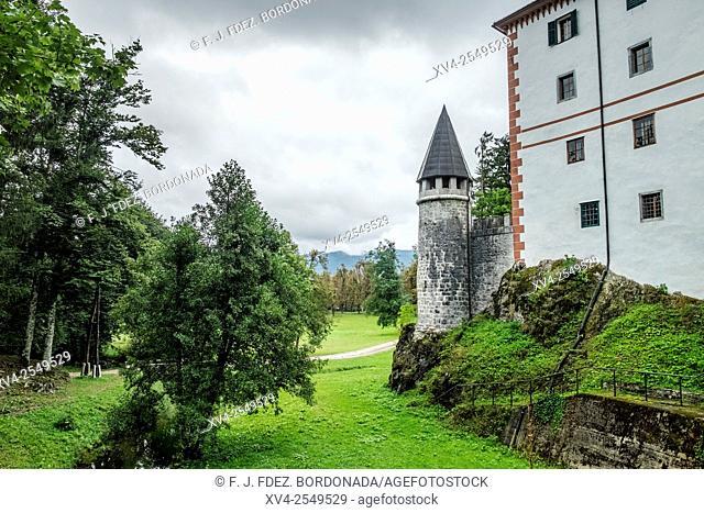 Grad Snežnik castle, Lož Valley, Loška Dolina, Slovenia