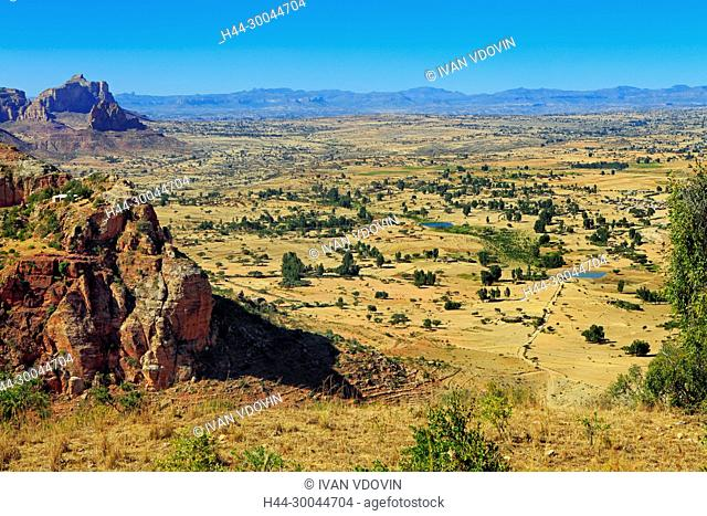 Gheralta mountains, Degum village, Tigray region, Ethiopia