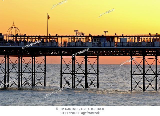 Brighton Pier, Brighton, England, UK