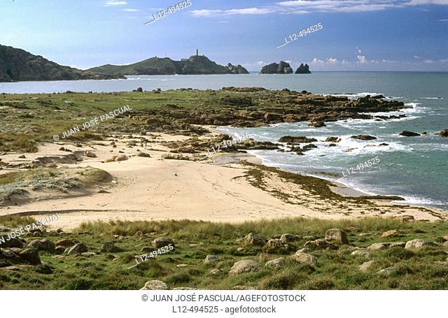 Costa da Morte between Cape Vilán and Cape Tosto. La Coruña province, Galicia, Spain