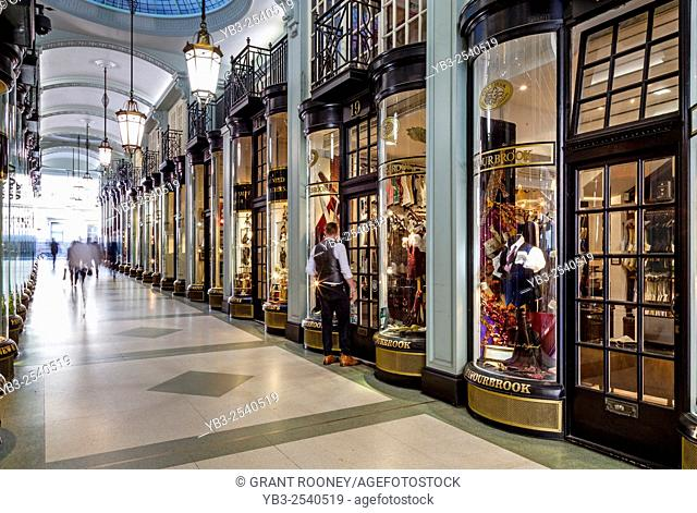 Piccadilly Arcade, Piccadilly, London, UK