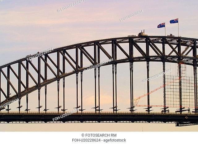 travel, harbor, nsw, australia, bridge, sydney