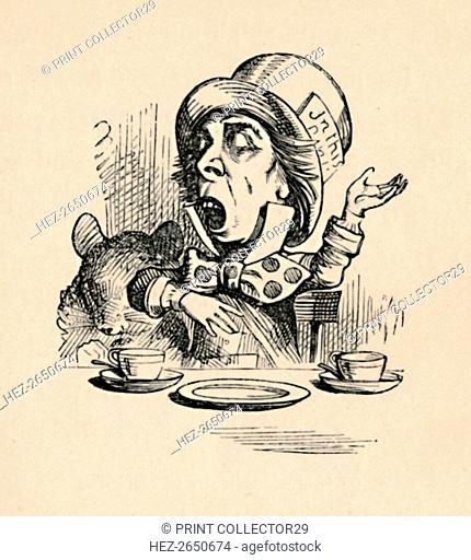 'The Mad Hatter', 1889. Artist: John Tenniel