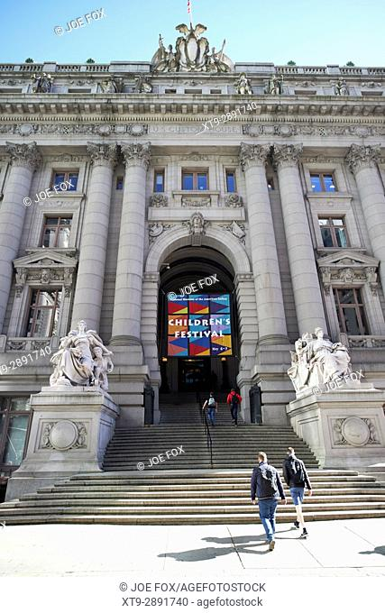 National museum of the american indian alexander hamilton custom house New York City USA