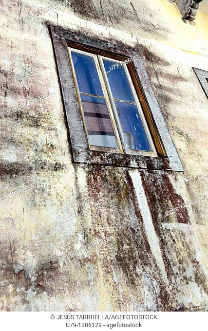 Window Urban Landscape, Lisbon, Portugal, Europe