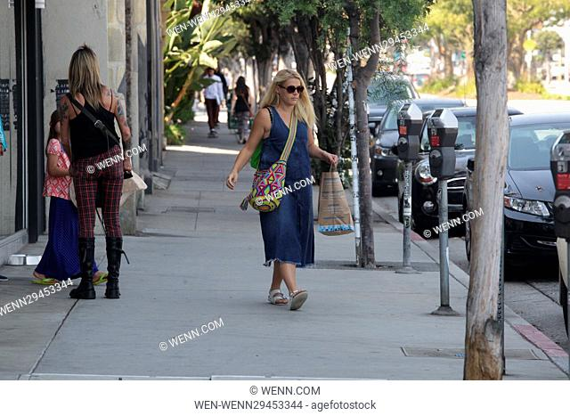 Busy Philipps spotted with her daughter, Birdie Leigh, shopping for a new house for their cat, in West Hollywood, Los Angeles County, California