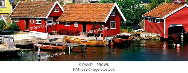 Boat Houses, Norway