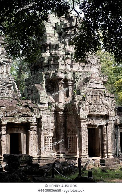 Cambodia, Siem Raep, Angkor, Temple of Ta Prohm, Tomb Raider movie