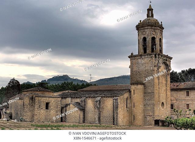 Church of Santiago, Puente La Reina, Navarra, Spain